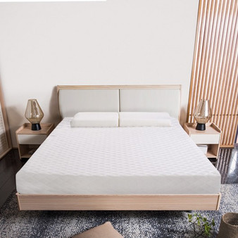 """10"""" Topper Bed Memory Foam Mattress With 2 Free Pillows-Full Size (HT0917F)"""