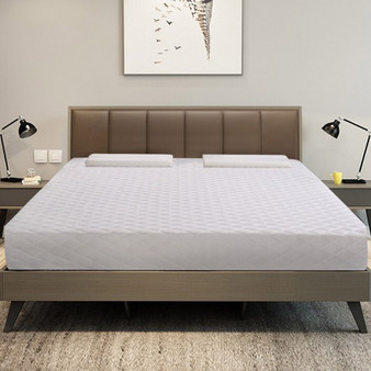 "10"" Topper Bed Memory Foam Mattress With 2 Free Pillows-Queen Size (HT0917Q)"