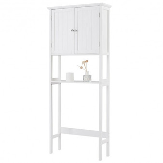Over The Toilet Bathroom Storage Space Saver With Shelf (HW67251)