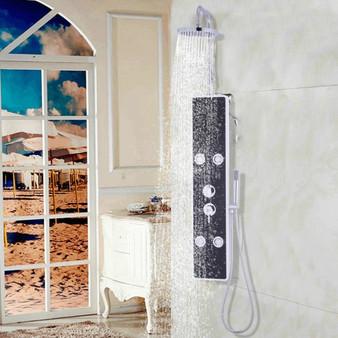 Bathroom Abs Shower Panel With Massage Jets & Hand Shower (BA7213)