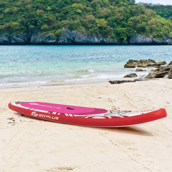 10.6' Inflatable Adjustable Paddle Board With Carry Bag (SP37539-M)