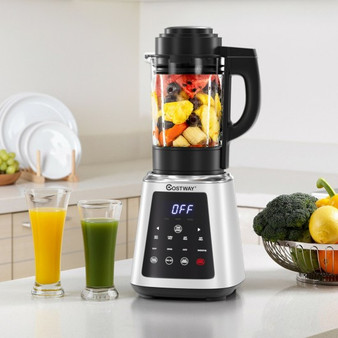 Professional Countertop Blender 8-In-1 Smoothie Soup Blender With Timer (EP24954US)