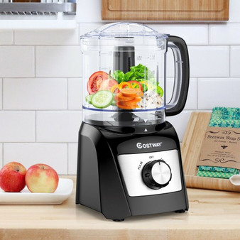 3-Cup Electric Food Processor Vegetable Chopper With Stainless Steel Blade (ES10024US)