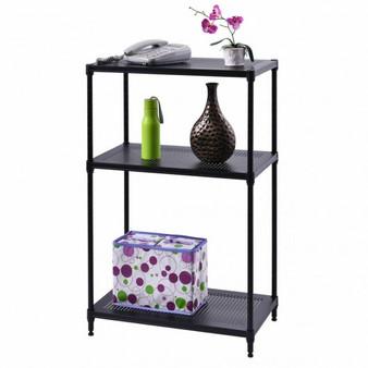 3 Layer Rect Shelf Storage Rack Furniture Bathroom Kitchen Organizer Steel New (HW52992)