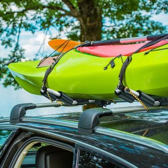 Folding J-Bar Kayak Roof Rack Universal Kayak Rack For Canoe Surfboard (TL35460)