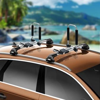 J-Bar Kayak Roof Rack Folding Universal Kayak Rack For Canoe Surfboard (TL35461)