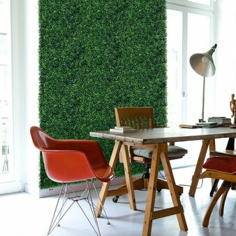 12 Pieces Artificial Boxwood Panels For Wedding Decor Fence Backdrop (HZ10013)