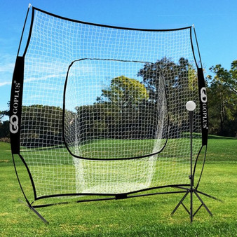 Portable Practice Net Kit With 3 Carrying Bags -Black (SP37425BK)