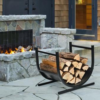 17 Inch U-Shaped Firewood Rack Steel (OP70817)