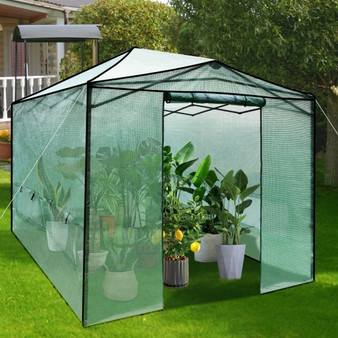 9'X 12' Portable Folding Pop-Up Greenhouse With Windows (GT3673GN)