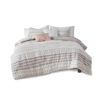 100% Cotton 5 Piece Comforter Set - Full/Queen UH10-2291