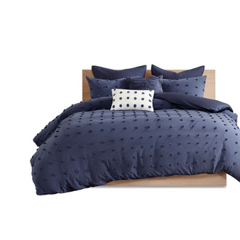 100% Cotton 5Pcs Jaquard Duvet Cover Set - Twin/Twin XL UH12-2264
