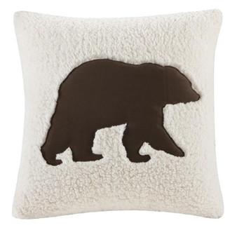 100% Polyester Berber Square Pillow - Multi WR30-422