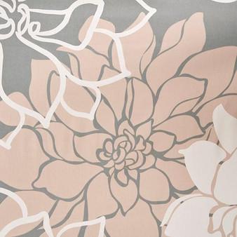 100% Cotton Floral Printed Shower Curtain - Blush MP70-5669