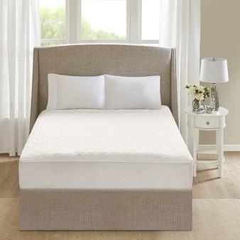100% Cotton Heated Mattress Pad - Full BR55-0899