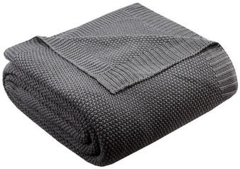 100% Acrylic Knitted Blanket - Twin II51-727