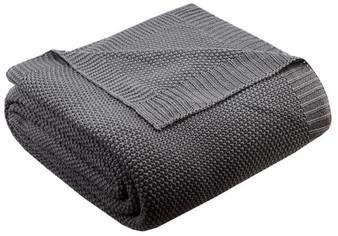 100% Acrylic Knitted Blanket - Full/Queen II51-728