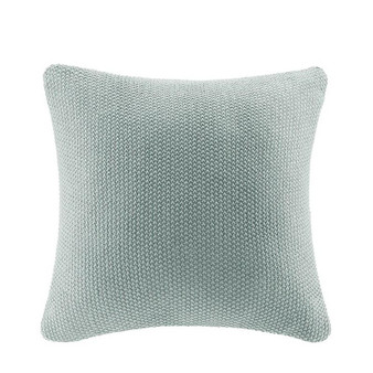 100% Acrylic Knitted Pillow Cover - Aqua II30-739