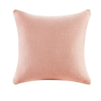 100% Acrylic Knitted Euro Pillow Cover - Coral II30-928