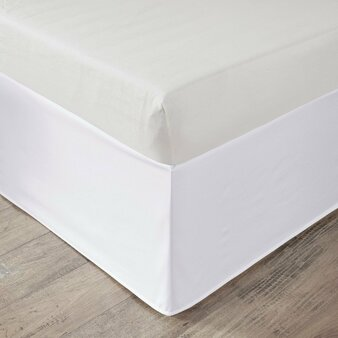 "100% Polyester Microfiber Solid Dorm Bedskirt W/ 36"" Drop - Twin XL ID11-1409"