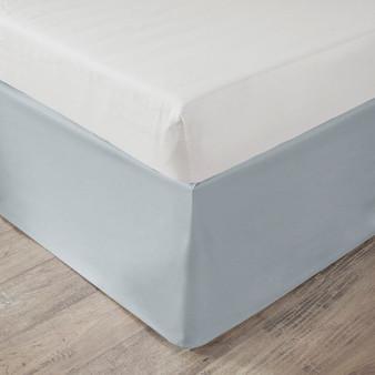 "100% Polyester Microfiber Solid Dorm Bedskirt W/ 36"" Drop - Twin XL ID11-1411"