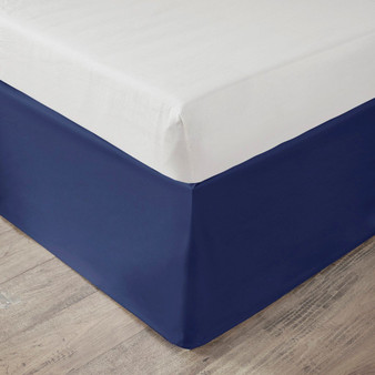 "100% Polyester Microfiber Solid Dorm Bedskirt W/ 36"" Drop - Twin XL ID11-1413"