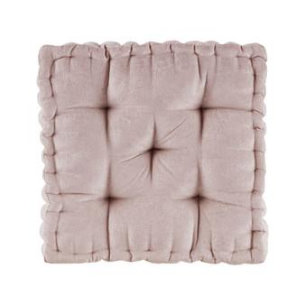 100% Polyester Chenille Cushion - Blush ID31-1524