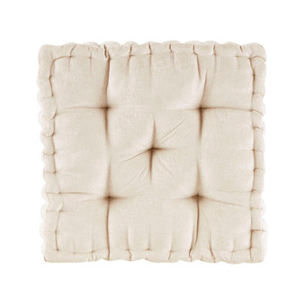 100% Polyester Chenille Cushion - Ivory ID31-1525