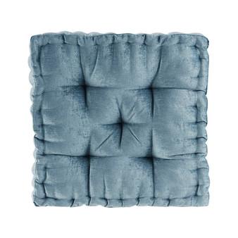 100% Polyester Chenille Cushion - Aqua ID31-1526