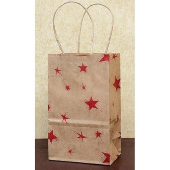 Red Star Gift Bag - Small