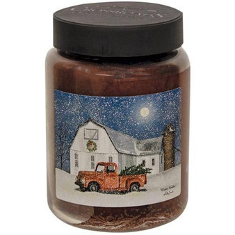 """""""Wintry Weather"""" 26 Oz Jar Candle"""