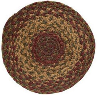 Cinnamon Braided Trivet (5 Pack)