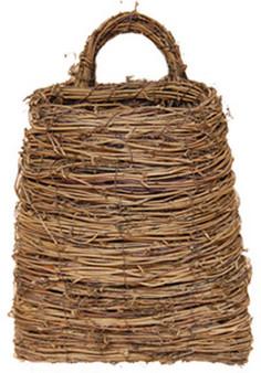 Vine Pocket Basket With Handle