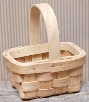 Natural Mini Basket - Assorted (Pack Of 4)