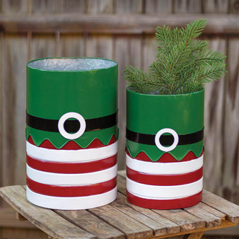 (Set Of 2) Elf Suit Containers