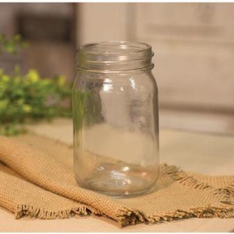 "*Clear Glass Jar - 5"" GQ161203"