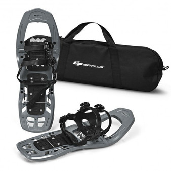 Gray 22 Inch Lightweight All Terrain Snowshoes With Bag Anti-Slip- (Sp36987Gr)