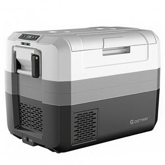 Abs Metal 58 Quart Portable Electric Camping Car Cooler (Ep24448Us)