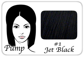 #1 Jet Black Pro Pump - Tease With Ease PRPP-1