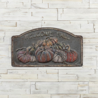 "16"" Welcome Fall Sign (Pack Of 2)"