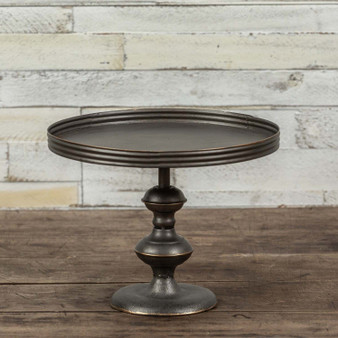 """10"""" X 8"""" Metal Compote (Pack Of 2)"""