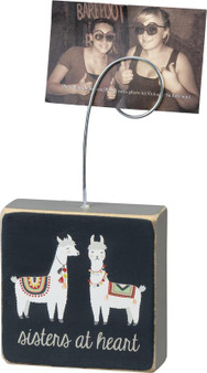 100903 Photo Block - Sisters At Heart - Set Of 4 (Pack Of 4)