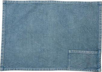 37877 Pocket Placemat - Blue - Set Of 4 (Pack Of 2)