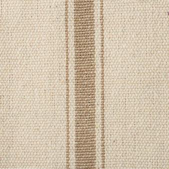 19645 Fabric - Cream, 3 Dark Stripes - Set Of 12