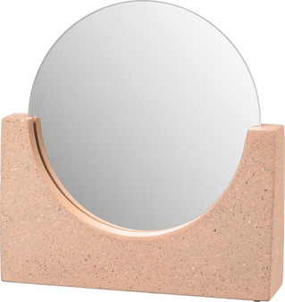 104231 Mirror - Concrete Base - Set Of 2