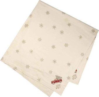 104218 Tablecloth - Joy (Pack Of 2)