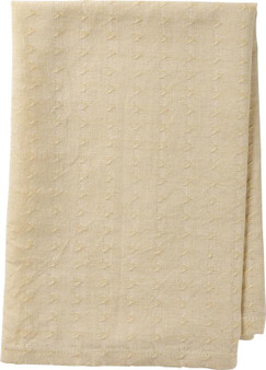 103770 Napkin - Woven Beige - Set Of 4 (Pack Of 4)