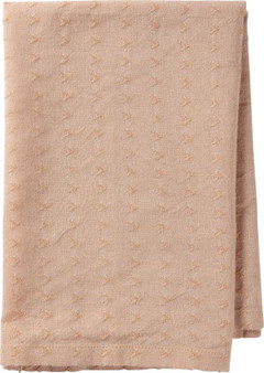 103769 Napkin - Woven Peach - Set Of 4 (Pack Of 4)
