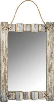 103305 Mirror - Weathered Frame (Pack Of 2)
