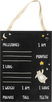 103224 Milestone Board - Bear - Set Of 2 (Pack Of 2)
